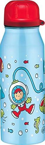 Alfi 5337705035 Isolier-Trinkflasche edelstahl (0,35 Liter) taucher blau