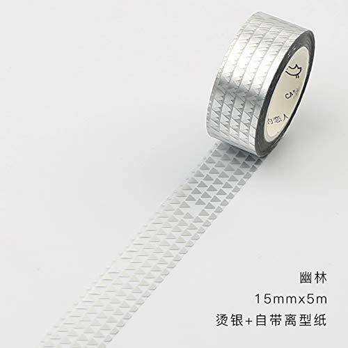 YFB Exfoliante cinta tamaño adhesivo Bronceado Etiqueta