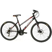 """Moma Bikes Bicicleta Montaña SHIMANO SUN 26"""", 21V. 2x Freno Disco, Susp. Delant."""