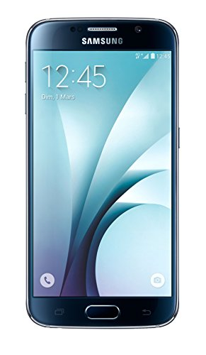 Samsung Galaxy S6   Smartphone libre Android (pantalla 5.1, cámara 16 Mp, 32 GB, Quad Core 1.5 GHz, 3 GB RAM), color azul (importado)