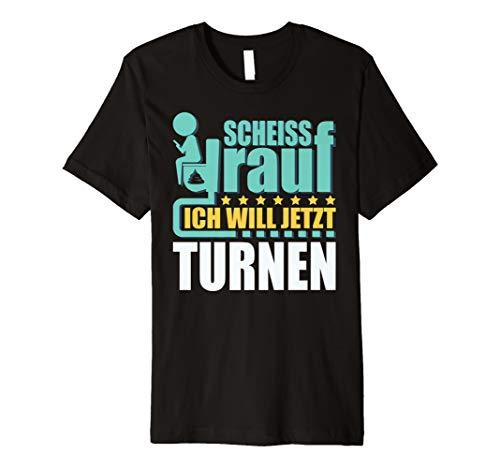 Turnen Geschenk Turner T-Shirt Turnverein Gerätturnen