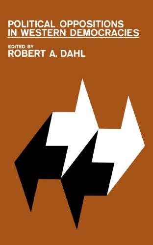 Political Oppositions in Western Democracies por Robert Alan Dahl