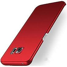 Samsung Galaxy S7 edge Coque Pacyer® arrière ultra mince avec Finition caoutchouc mat Ultra en PC Candy Etui Housse Gel pour Samsung Galaxy S7 edge Coque Cover Bumper Case solide haut de gamme