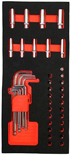 Fischer Darex 810902módulo de almacenamiento piezas llaves larga 1/4