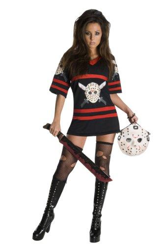 888822 L - Miss Voorhees Größe L (Miss Jason Voorhees Halloween Kostüm)