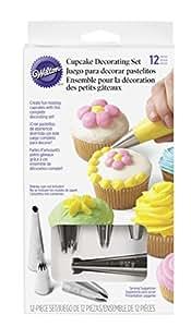 Wilton Kit de décoration pour cupcakes 12 pièces