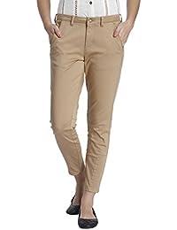 ONLY Women's Slim Fit Cotton Pants