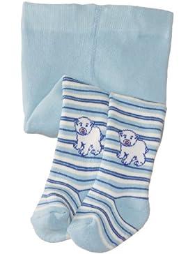 Playshoes Baby-Jungen Strumpfhose Thermo Eisbär, Blickdicht
