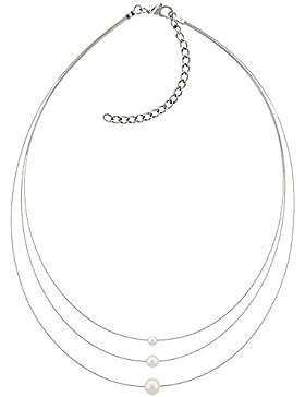 Boccia Damen-Collier Titan Perle