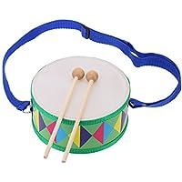 Andoer® Trampa Tambor Colorido Lindo de Madera Instrumento Musical Regalo Juguete para Bebé Niño