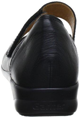 Ganter 5-205431-01000, Ballerines femme Noir (Schwarz 0100)
