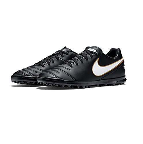 Nike Tiempo Tiempo Rio III Multinocken Fußballschuhe 819237-010 Black/White