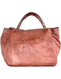 7dcbae8eea97b BZNA Bag Diana rosa Italy Designer Weekender Damen Handtasche  Schultertasche Tasche Leder Shopper Neu