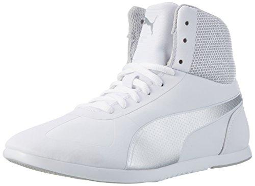 Puma Damen Modern Soleil Mid High-Top, Weiß White Silver 02, 38 EU