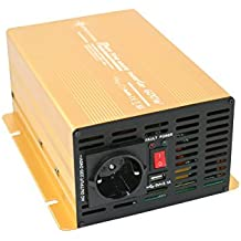 Spannungswandler 12V 600 1200 Watt reiner SINUS Power USB 2.1A Gold Edition