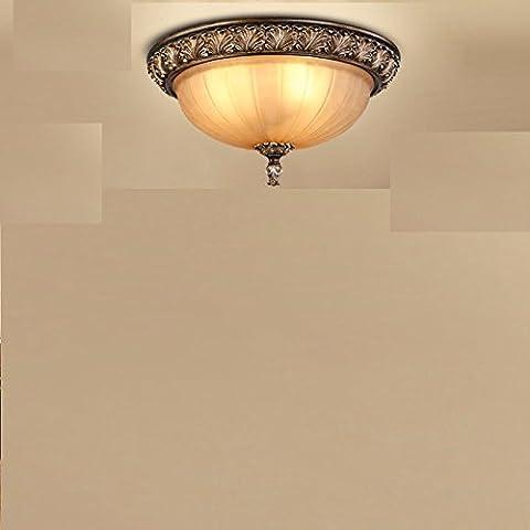 Round lampada da soffitto camera da letto