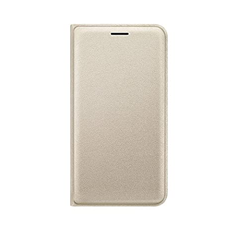 Samsung EF-WJ120PFEGWW Flip Wallet Hülle für Samsung Galaxy J1 (2016)