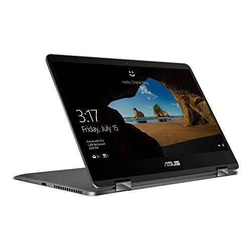 ASUS ZenBook Flip 14 UX461UN (90NB0K21-M01040) 35, 5 cm (14 Zoll, FHD, WV, Touch) Convertible Notebook (Intel Core i5-8265U, 8GB RAM, 256GB SSD, NVIDIA GeForce MX150 (2GB), Windows 10) Grey
