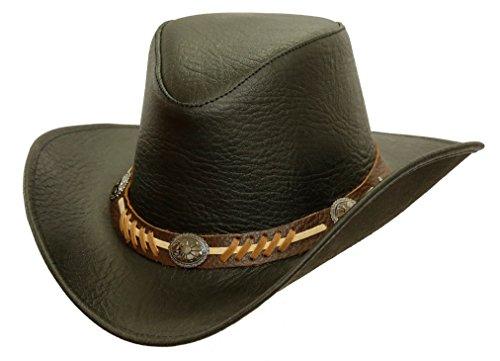 Kakadu Traders Australia - Sombrero Cowboy - para Hombre Negro Large b34fc4889d4