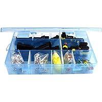 DoMoment Conector de Terminal de Metal Impermeable de pequeño tamaño Conector eléctrico Sellado de Silicona Conjunto de Caja de fusibles para camión camión