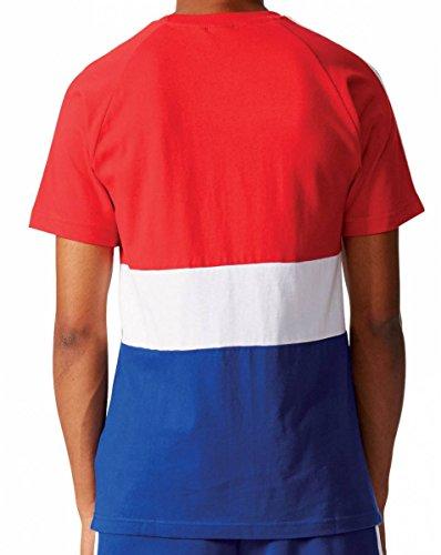 adidas Originals Herren Fanshirt weiß/rot/blau