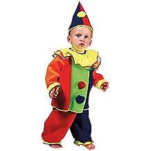 Kostümplanet® Clown-Kostüm Kinder Babys und Kleindkind Faschings-Kostüme Größe 86 92 98 104 116 128
