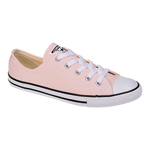Converse All Star Chaussures Baskets Mode Femme Semelle Fine Dainty En Toile (Vapor Pink - Rose) - 4 UK - 37