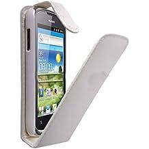 Funda piel blanco Huawei Ascend Y330