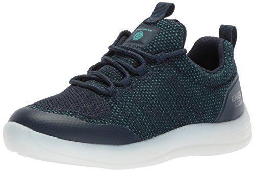 Skechers 90642l/nvy sneakers bambino blu 27