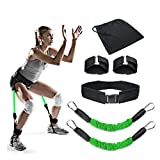 ShopSquare64 60 Pfund Elastisches Seil Beintraining Übung Gürtel Sport Bandage Yoga Beweglichkeitstraining Zugseil