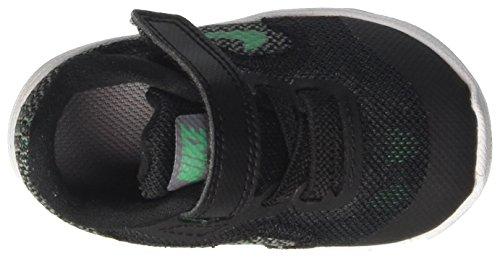 Nike Revolution 3 (Tdv), Scarpe da Ginnastica Unisex – Bambini Nero (Black/Stadium Green/Cool Grey/White)