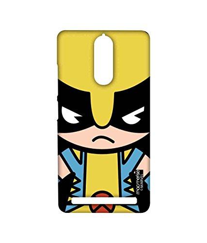 Macmerise Licensed Marvel Comics Wolverine Premium Printed Back cover Case for Lenovo Vibe K5 Note