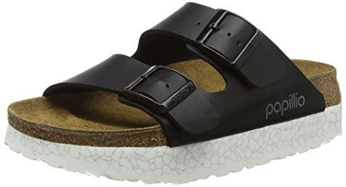07936f7fc329 Papillio by Birkenstock Arizona, Women s Open Toe Sandals Open Toe Sandals,  Black (Monochrome