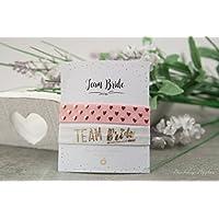 Armband Set - Team Bride / Hochzeit, JGA, Junggesellinnenabschied