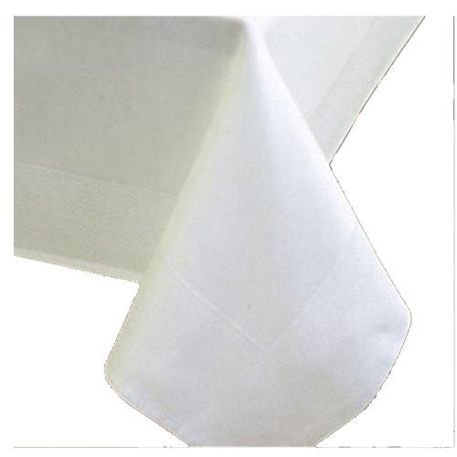 DecoHomeTextil DAMACO DE SEDA - Mantel cuadrado (80 x 80 cm, borde...