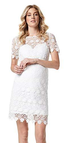ESPRIT Maternity Damen Umstandskleid R84273 Brautkleid Hochzeitskleid (40, Offwhite)