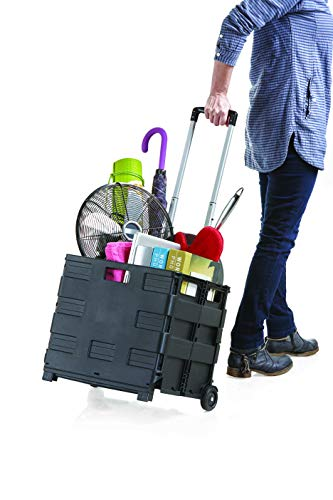 Inspired Living by Mesa Rolling Utility Carts Rolling Utility Cart Large schwarz -