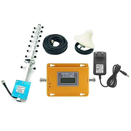 CDMA 3G 4G 2100 MHz LCD 3G Handy Signal Booster Repeater Verstärker Orange (Linear-verstärker-radio)