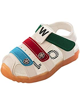 Zapatos 1-6 Años,Malloom Bebé Niños Moda Zapatillas Niños Chicos Verano Anti-Deslizante Sandalias de Cuero Casuales...