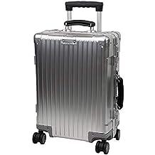Maleta de Viaje de Aluminio, Maletas de Cubierta Dura livianas y duraderas, Maleta con