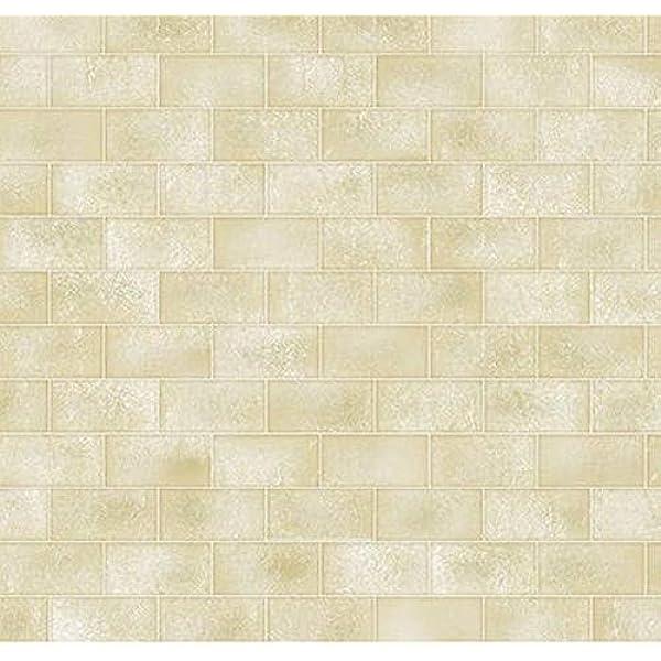 Beige Stone Brick Bodenplatte Bodenbelag Tapete Karte für Puppenhaus Modell im