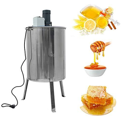 OLAS Honigschleuder elektrisch 220V 120 W,4 Waben Edelstahl Honey Extractor Bienenzucht Ausrüstung Imker für Anfänger Bienenzüchter