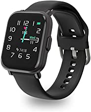Smart Watch, UXD Fitness Activity Tracker with Sleep Heart Rate Monitor for Men Women 5ATM Waterproof Pedomete