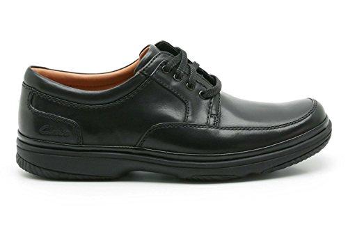 Clarks , Scarpe stringate uomo Black Leather