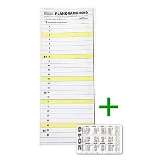 PLANORAMA - Kalender - Urlaubsplaner - Personalplaner + gratis Kalenderkarte 2019