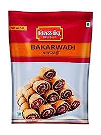 Chitale Bandhu Bakarwadi - Bhakarwadi Pack - Ready to Eat Snacks 500gm (Pack of 3)