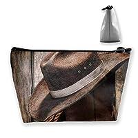 Cowboy Boots Pencil Case Bag Zipper Bag Coin Bag Makeup Bag Pouch Storage