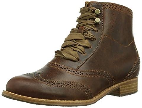 Sebago Claremont Boot, Boots femme - Marron (Cognac Leather), 37 EU