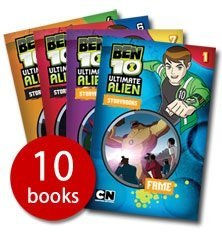 Image of Ben 10 Ultimate Alien Storybooks Collection (10 Books in Box Set). RRP £39.99 (Ultimate Alien)