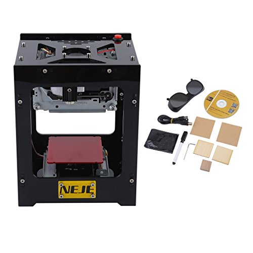 1500mw Laser Graviermaschine Mini DIY USB Bluetooth Graveur Drucker, CNC Router Schneiden Carver, DIY Druck Engraving Maschine für IOS/Andrio/PC (Von Laser-schneiden Leder)
